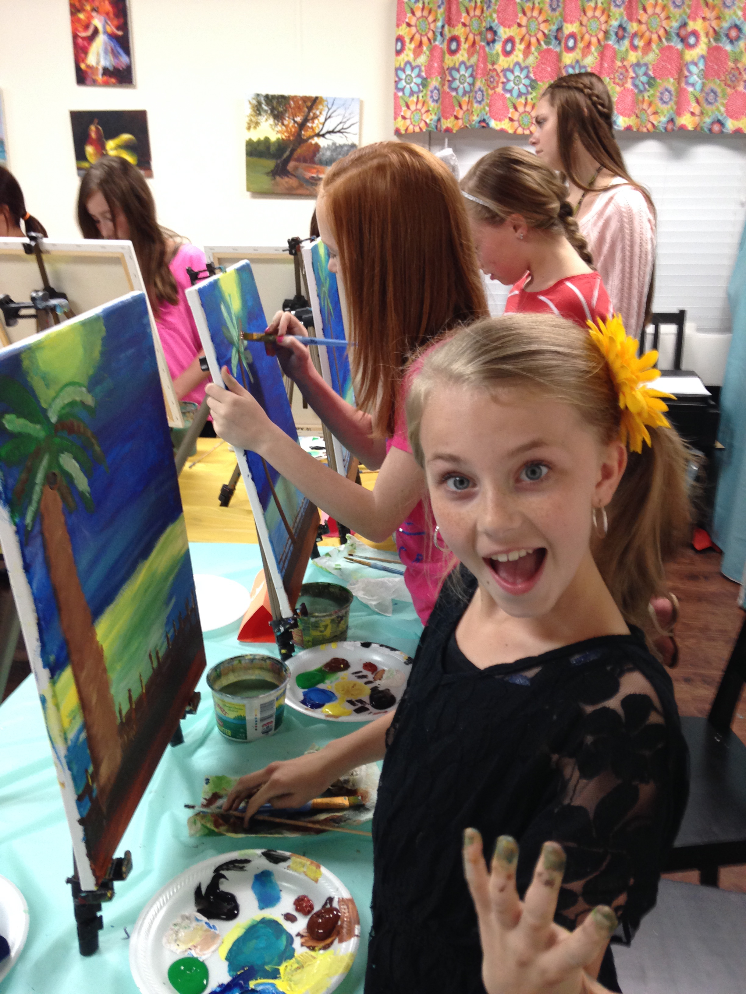 coffee and canvas art classes workshops parties longwood fl