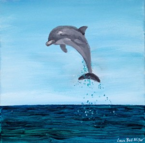painting_jumpingdolphin