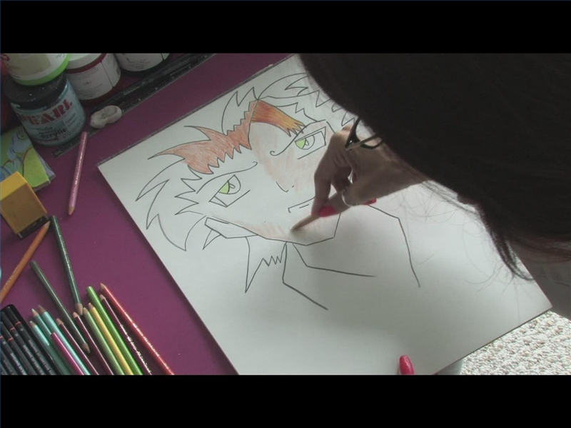 Color Anime Colored Pencils 800x800 Coffee And Canvas