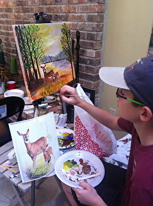 Studio Art 2D: Intermediate Painting for Teens & Adults
